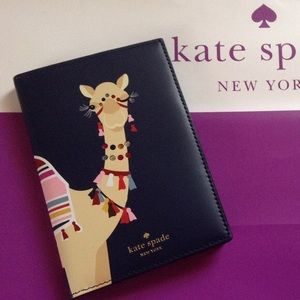NWT Kate Spade Passport Holder Spice Things Up